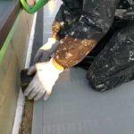 NT-F端末テープ貼り作業l埼玉県川越市南台現場で塗替えリフォーム施工中
