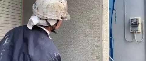 ジョリパットフレッシュ塗装作業