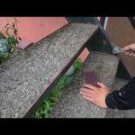 鉄骨階段のケレン作業l埼玉県川越市寺尾現場で塗り替えリフォーム施工中